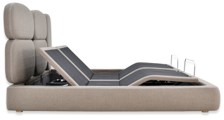ergoelegant bed side view with zero g position