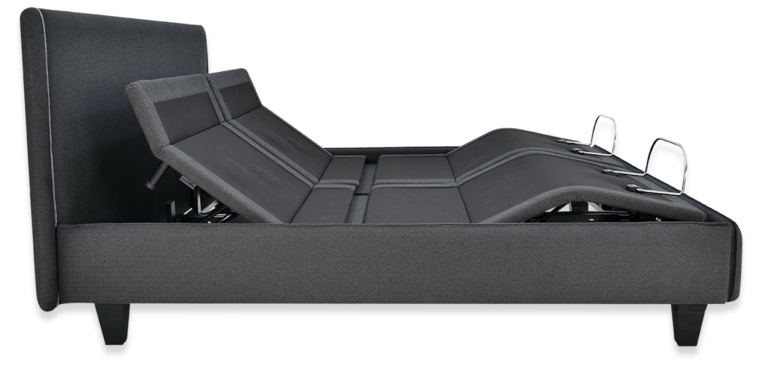 ergosmart bed side view with zero g position