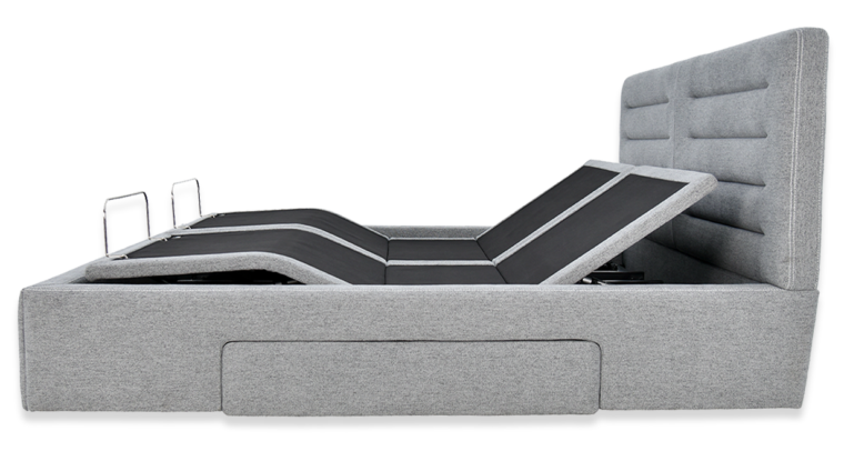 ergostyle bed side view with zero g position